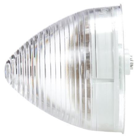 Truck-Lite 1076 LED, Clear/Red Beehive, 13 Diode, M/C Light, P2, 12V, Marker Clearance Light, Truck-Lite