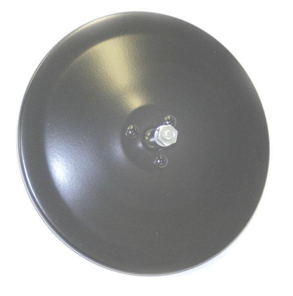 "Grote 12052 Convex 6"" Center-Mount Spot Mirror- Head-Only, Black - Levine Auto and Truck Lighting"