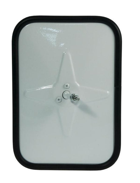 Grote 12101 Outer Protective Bumper Mirror- White