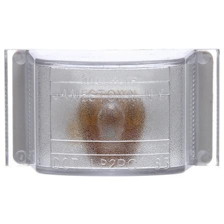 Truck-Lite 12200C 12 Series, Incan., 1 Bulb, Clear, Rectangular, Utility Light, Bracket Mount, 12V, Kit, Utility Light, Truck-Lite