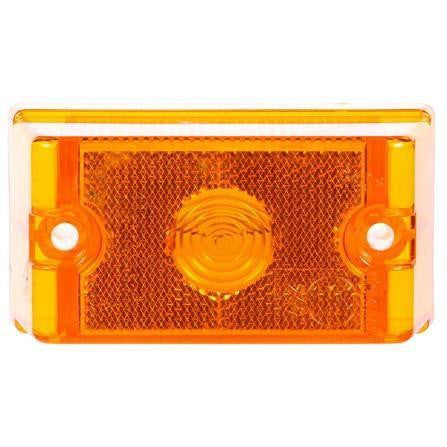 Truck-Lite 13001Y 13 Series Incan Yellow Rectangular 1 Bulb M/C Light ECE 24V Kit