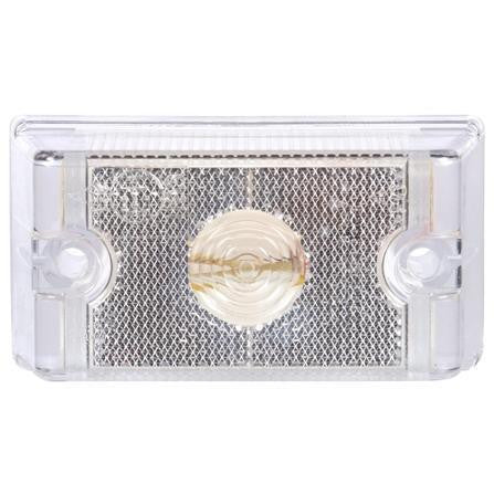 Truck-Lite 13011C 13 Series Incan Clear Rectangular 1 Bulb European Approved M/C Light 12V Kit