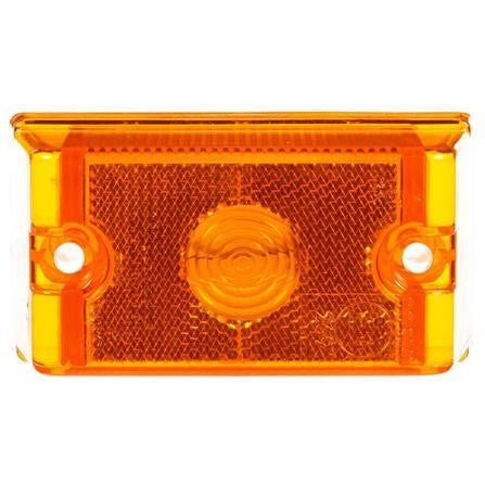 Truck-Lite 13011Y 13 Series Incan Yellow Rectangular 1 Bulb European Approved M/C Light 12V Kit