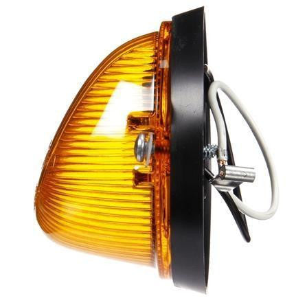 Truck-Lite 1313A Incandescent, Amber GM cab marker, 1 Bulb, PC, 2 Screw, 12V, Marker Clearance Light, Truck-Lite