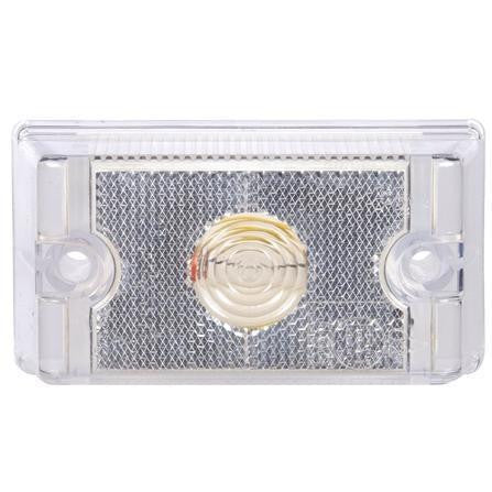 Truck-Lite 13200C 13 Series Incan Clear Rectangular 1 Bulb European Approved M/C 24V