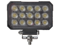 Buyers Products 1492196 Ultra Bright LED, 6 Inch Wide, Rectangular Flood Light