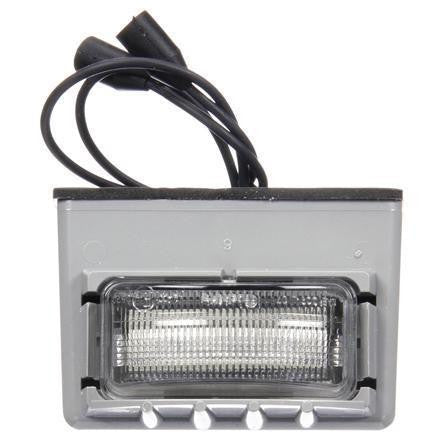 Truck-Lite 15040 15 Series, LED, 3 Diode, Rectangular, License Light, Gray Bracket, 12V, Kit
