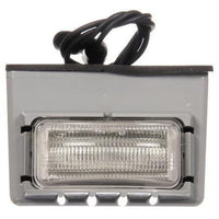 Truck-Lite 15053 15 Series, LED, 3 Diode, Rectangular, License Light, Gray Bracket, 12V, Kit
