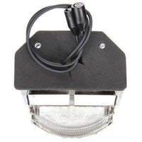 Truck-Lite 15055 15 Series, LED, 3 Diode, Rectangular, License Light, Chrome Bracket, 12V, Kit