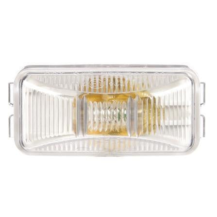 Truck-Lite 15200C 15 Series Incan 1 Bulb Clear Rectangular Utility Light 12V