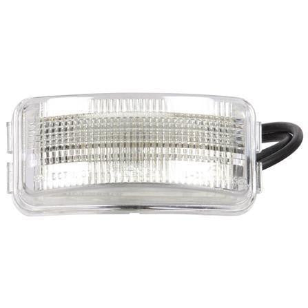 Truck-Lite 15227 15 Series, LED, 3 Diode, Rectangular, License Light, Bracket, 12V