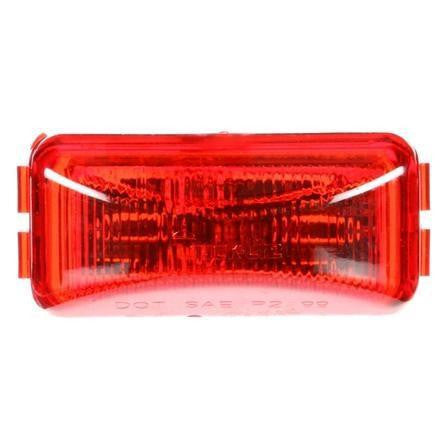 Truck-Lite 15250R 15 Series, LED, Red Rectangular, 1 Diode, M/C Light, P3, 12V