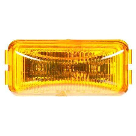 Truck-Lite 15250Y 15 Series, LED, Yellow Rectangular, 3 Diode, M/C Light, P3, 12V