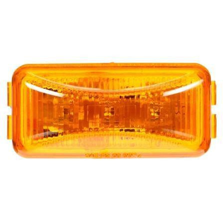 Truck-Lite 1560A LED Yellow Rectangular 3 Diode M/C Light P2 12V
