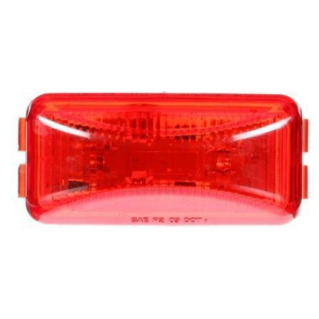 Truck-Lite 1560 LED Red Rectangular 2 Diode M/C Light P2 12V