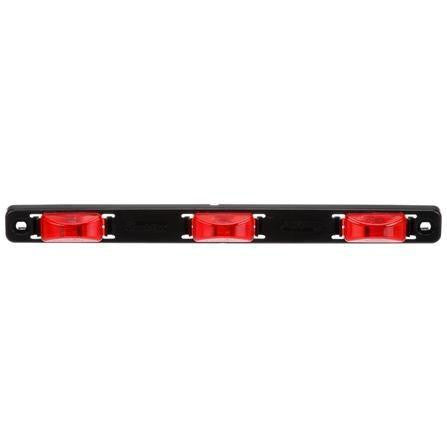 "Truck-Lite 15745R 15 Series, 6"" Centers, Incan., Red, Rectangular, ID Bar, Black, 12V, Kit, Identification Bar, Truck-Lite"