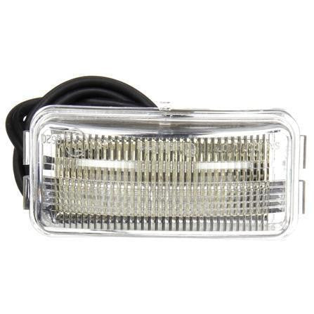 Truck-Lite 15905 Series 15, LED, 3 Diode, Rectangular, License Light, Bracket, 24V, License Light, Truck-Lite