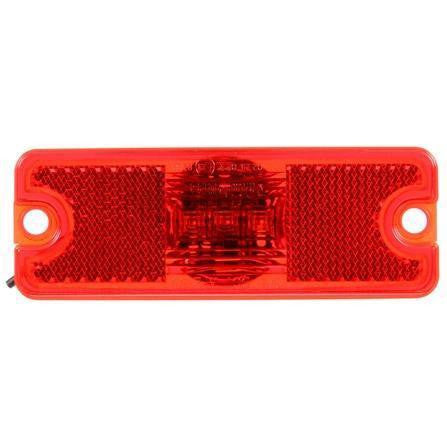 Truck-Lite 18011R 18 Series Reflectorized LED Red 3 Diode European M/C 12-24V Kit