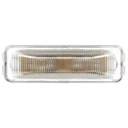 Truck-Lite 1961A LED, Clear/Yellow Rectangular, 4 Diode, M/C Light, P2, 12V