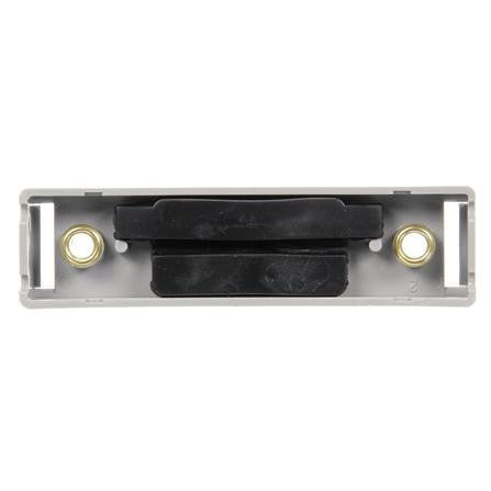 Truck-Lite 19722 19 Series, Radius Base Mount, 19 Series Products, Rectangular, Gray, 2 Screw Bracket Mount, Radius Base Mount, Truck-Lite