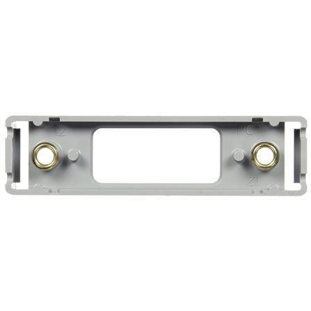 Truck-Lite 19737 19 Series, Open Back Bracket Mount, 19 Series Products, Rectangular, Gray, 2 Screw Bracket Mount, Open Back Bracket Mount, Truck-Lite