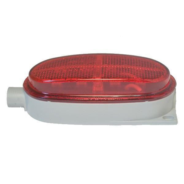 Betts 200217 Red LED Valox Body Clearance & Side Marker Lamp, One 1/4 N.P.T. End Entrance