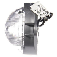 Truck-Lite 20308 Incan., 1 Bulb, Clear, Round, Utility Light, Silver Bracket, 12V