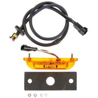 "Truck-Lite 21091Y 21 Series, LED, Yellow Rectangular, 16 Diode, Auxiliary W/39"" Mating Harness, M/C Light, P2, 2 Screw, 12V, Marker Clearance Light, Truck-Lite"