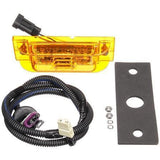 Truck-Lite 21093Y 21 Series, LED, Yellow Rectangular, 16 Diode, M/C Light, PC, Yellow 2 Screw, 12V, Marker Clearance Light, Truck-Lite