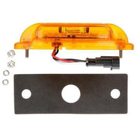 Truck-Lite 21096Y 21 Series, LED, Yellow Rectangular, 16 Diode, M/C Light, P2, 2 Screw, 12V, Marker Clearance Light, Truck-Lite