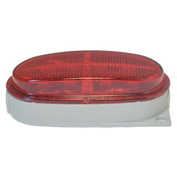 "Betts 211205 Red LED B21 Clearance/Marker Light, w/One 1/4"" N.P.T. Rear Entrance"