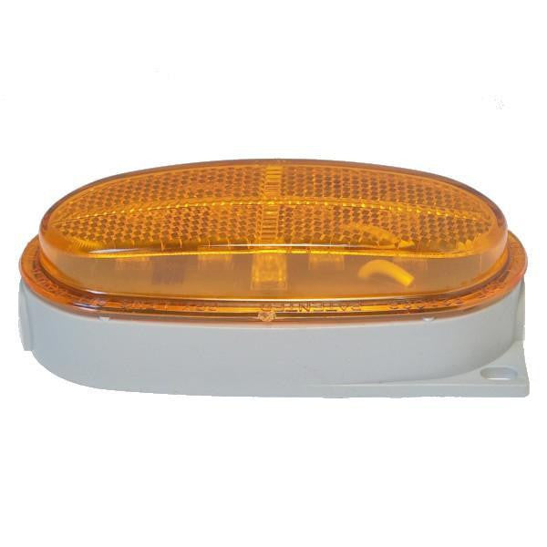 "Betts 211206 Amber LED B21 Clearance/Marker Light, w/One 1/4"" N.P.T. Rear Entrance"