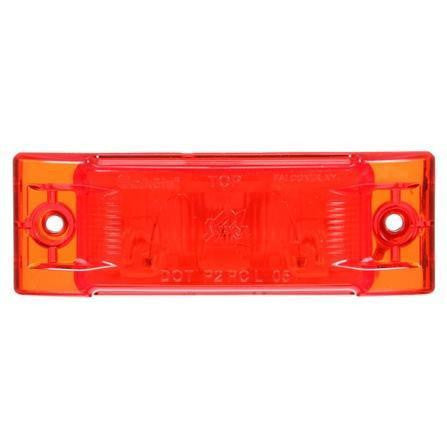 Truck-Lite 21200R Super 21, Incan., Red Rectangular, 1 Bulb, M/C Light, PC, 2 Screw, 12V, Marker Clearance Light, Truck-Lite