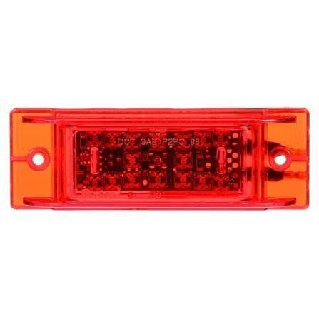 Truck-Lite 21271R 21 Series, LED, 16 Diode, Rectangular, Highed Stop Light, Bracket, 12V