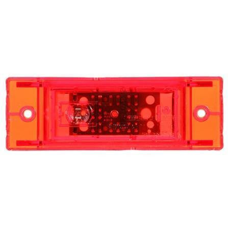 Truck-Lite 21275R 21 Series, LED, Red Rectangular, 8 Diode, M/C Light, PC, 2 Screw, 12V, Marker Clearance Light, Truck-Lite