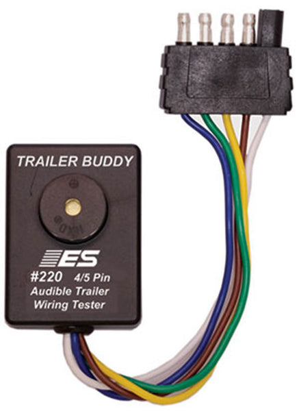 ESI #220 TRAILER BUDDY 4/5 Pin - One Man Trailer Wiring Tester