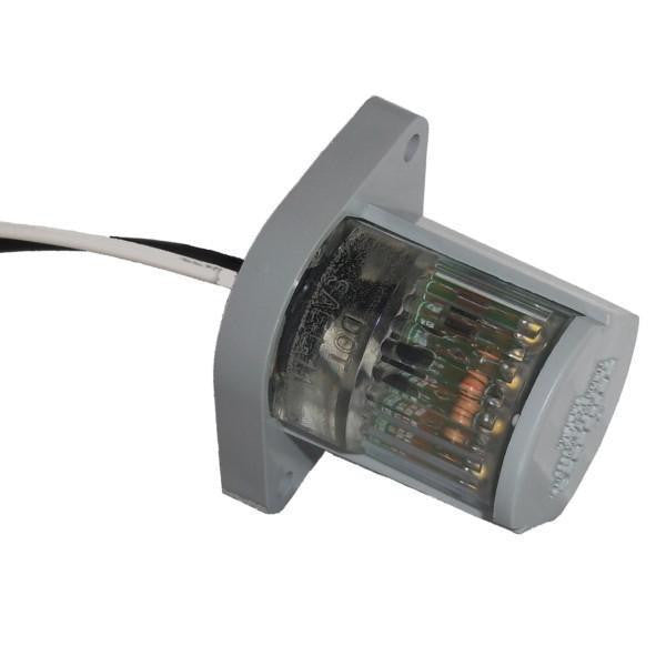 "Betts 242003 LED License Clear Lens, Valox body with two 12"" long 18 gauge leadwires. - Levine Auto and Truck Lighting"