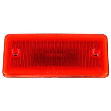Truck-Lite 25250R 25 Series, LED, Red Rectangular, 3 Diode, M/C Light, P2, 2 Screw Surface, 12V, Marker Clearance Light, Truck-Lite