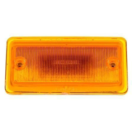 Truck-Lite 25250Y 25 Series, LED, Yellow Rectangular, 3 Diode, M/C Light, P2, 2 Screw Surface, 12V, LED Clearance Marker Lights, Truck-Lite