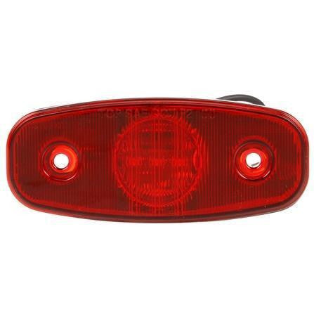 Truck-Lite 26250R 26 Series, LED, Red Rectangular, 3 Diode, M/C Light, P2, 2 Screw, 12V, Marker Clearance Light, Truck-Lite