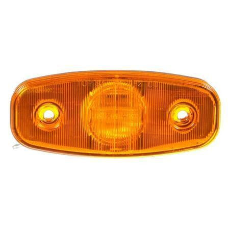 Truck-Lite 26250Y 26 Series, LED, Yellow Rectangular, 3 Diode, M/C Light, P2, 2 Screw, 12V, Marker Clearance Light, Truck-Lite