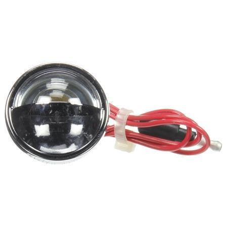 Truck-Lite 26331 26 Series, Incan., 1 Bulb, Round, License Light, Chrome Grommet, 12V, License Light, Truck-Lite
