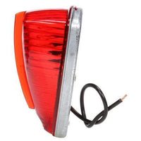 Truck-Lite 26354R 26 Series, Incan., Red Triangular, 1 Bulb, M/C Light, PC, 2 Screw, 12V, Marker Clearance Light, Truck-Lite