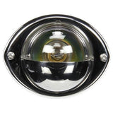 Truck-Lite 26392C Incan., 1 Bulb, With Ground Wire, Clear, Round, 24V
