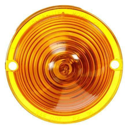 Truck-Lite 26762Y 26 Series, Incan., Yellow Beehive, 1 Bulb, M/C Light, P2, 2 Screw, 12V, Marker Clearance Light, Truck-Lite