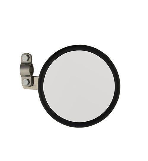 "Grote 28033 Round 5"" Convex Clamp On Spot Mirror- Stainless Steel Powder Coated, w/Arm"