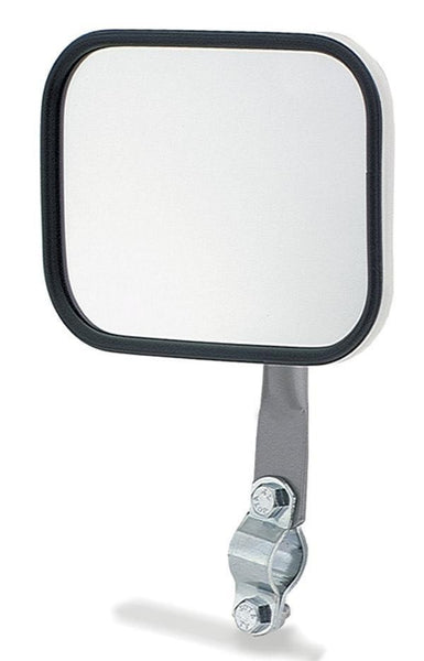 Grote 28051 Rectangular Stack & Spot Mirror- White w/ Arm Assembly