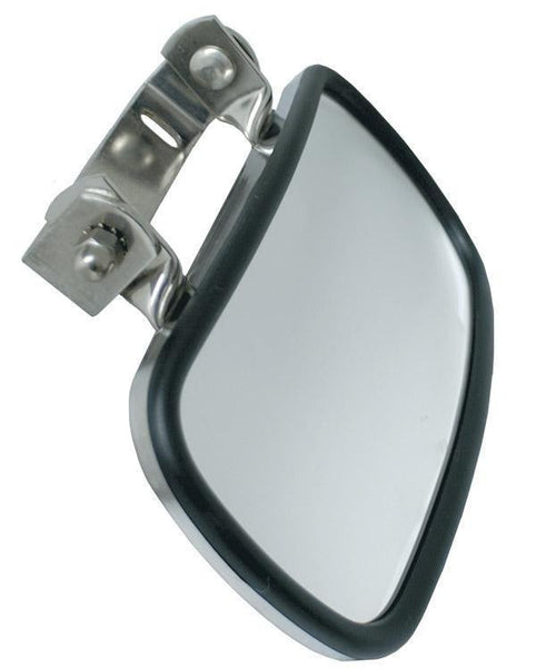 Grote 28763 Rectangular Over-The-Door Convex Mirror, Stainless Steel