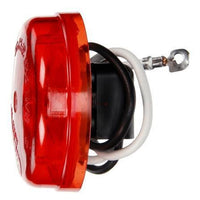 Truck-Lite 30001R 30 Series, Incan., Red Round, 1 Bulb, M/C Light, PC, Silver Bracket/2 Screw, 12V, Kit