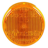Truck-Lite 30050Y 30 Series, LED, Yellow Round, 2 Diode, M/C Light, P3, Black Grommet, 12V, Kit